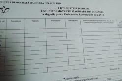 Aláírásgyűjtés EP-választásokra: Arad túlteljesített [VIDEÓ]