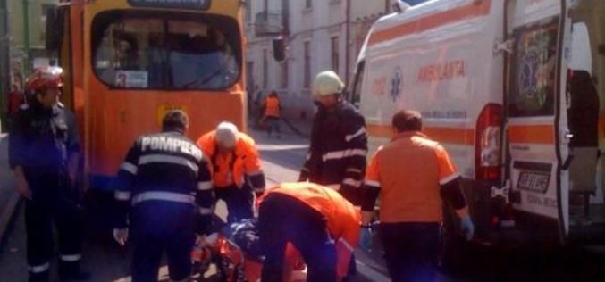 Villamos gázolta el a Vörös Ökörnél