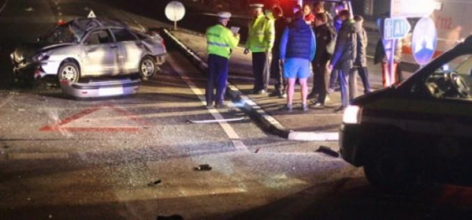 Tragikus baleset hajnalban Aradon: két férfi a helyszínen szörnyethalt