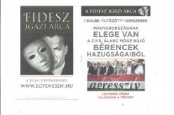 Választások utáni MSZP-kampányolás Aradon