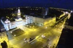 Egyedülálló videoklip: drónról filmezték az éjszakai Aradot [VIDEÓ]