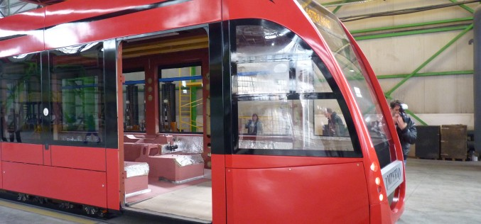 Hat új villamos Aradnak