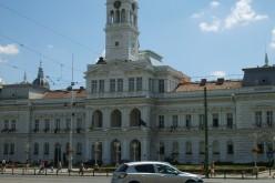I. Ferenc portréja a Városháza épületében