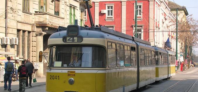Megjött az első villamos Temesvárról