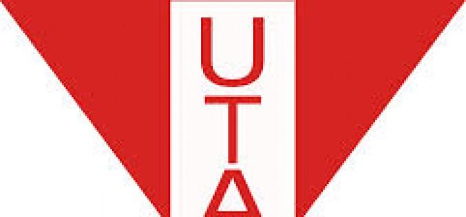 Az UTA klub elhatárolódik a magyarellenes baner kitűzőitől