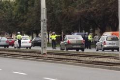 Arattak a rendőrök a Vlaicu-úton