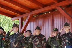Parancsnokváltás a magyar-román közös zászlóalj élén
