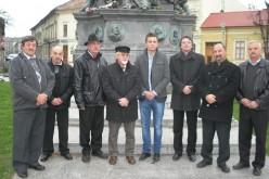 Kelebiai küldöttség Nagyiratoson