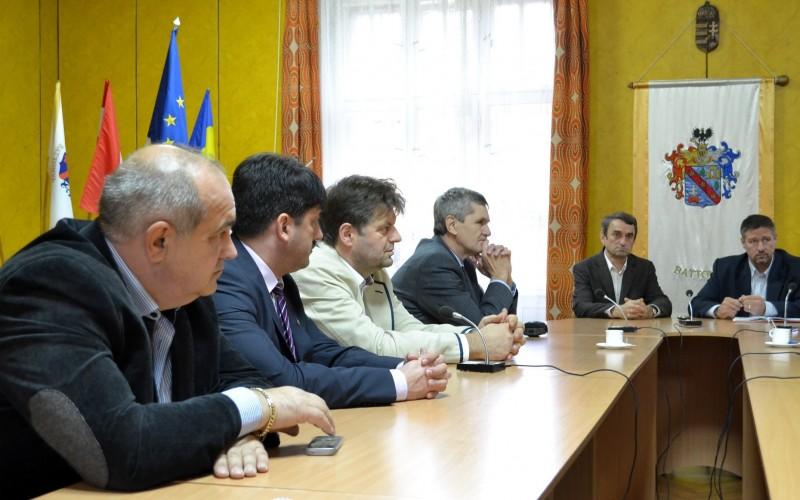 Pécska-Battonya testvérvárosi megbeszélés