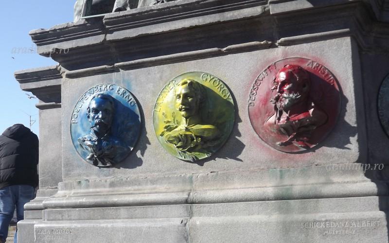 Meggyalázták a Szabadság-szobrunkat! [VIDEÓ]- FRISSÍTETT