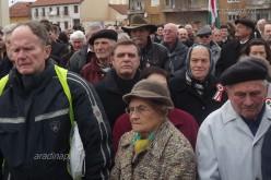 Március 15. megünneplése Aradon [VIDEÓ]