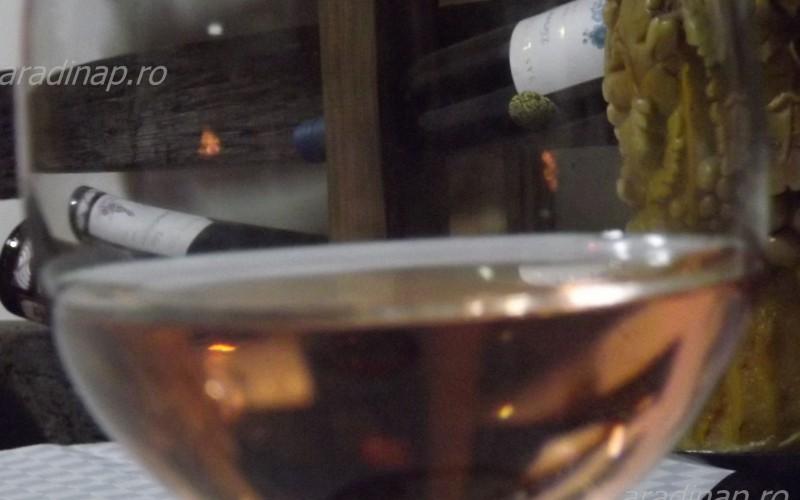 A villányi Linbrunn pince borkóstoltat
