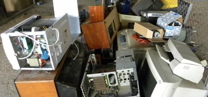 Elektromos hulladék gyűjtése Aradon
