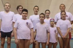 Aradi diákok a Békés megyei úszóbajnokságon