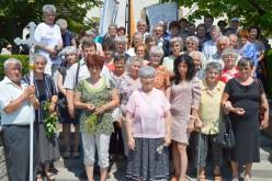 Pécskai zarándokcsoport Budaörsön