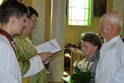 A megértés, türelem ünnepe: 65. házassági évforduló Pécskán