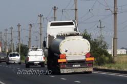 Kamionstop a megyei utakon