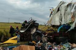 Két kamion ütközött Pécska mellett [VIDEÓ]