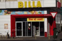 Pakol a Billa: jön az átfestés Aradon is