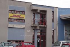A DHL is elrepül Aradról