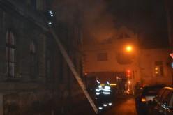 Lángolt az ortodox egyház épülete a nagypiacnál