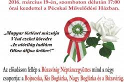 """Márciusi ifjak"" Pécskán"