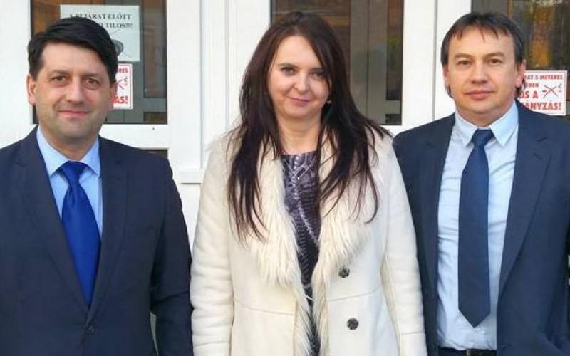 Pécska-Záhony-Tiszacsernyő-Csap polgármesteri találkozó