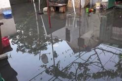 Utcákat, házakat öntött el a víz
