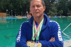 Amikor a tanár is nyakig vízben: Lipták három aranyérmet hozott