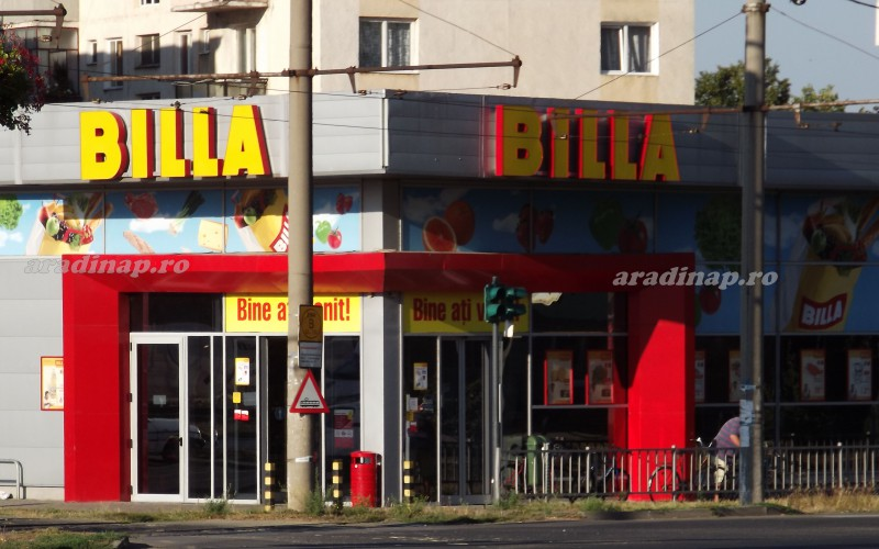 Egy éven belül Aradról is eltűnnek a Billa szupermarketek