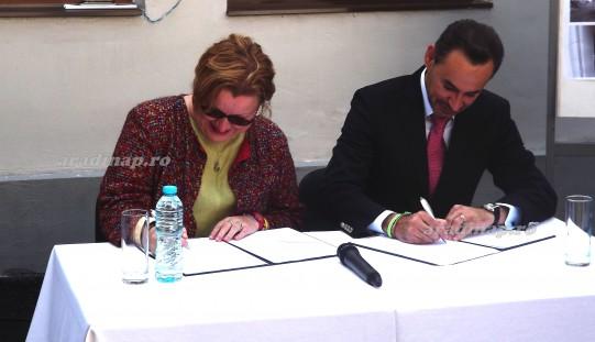 Európai Városok: elsőként Arad írta alá