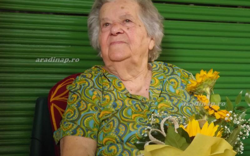 A 101 éves Vilma nénit köszöntöttük