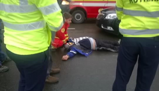 Súlyos baleset: métereket repítette a kerékpárost
