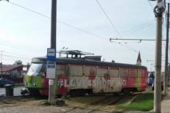 Kisiklott egy villamos Mosóczon
