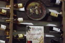 Heit Lóránd borkóstolója a Tulipánban