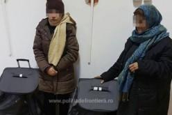 Az afgán hölgyek bőröndben érkeztek