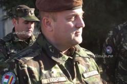 Parancsnokváltás a magyar-román zászlóaljnál