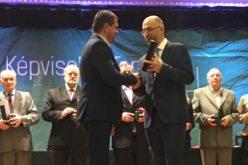 Kovács Imre átvette az Ezüstfenyő-díjat
