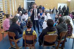 Farsangolás a majláthfalvi iskolában