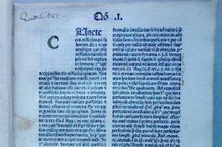 A legrégebbi kötet az Arad Megyei Könyvtárban
