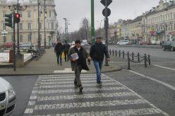 Ma gyalogosokra utaztak a helyi rendőrök