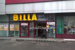 Rajtol a Billa szupermarketek átfestése: Aradon is