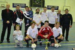 Kisiratos nyerte a megyei teremlabdarúgó bajnokságot