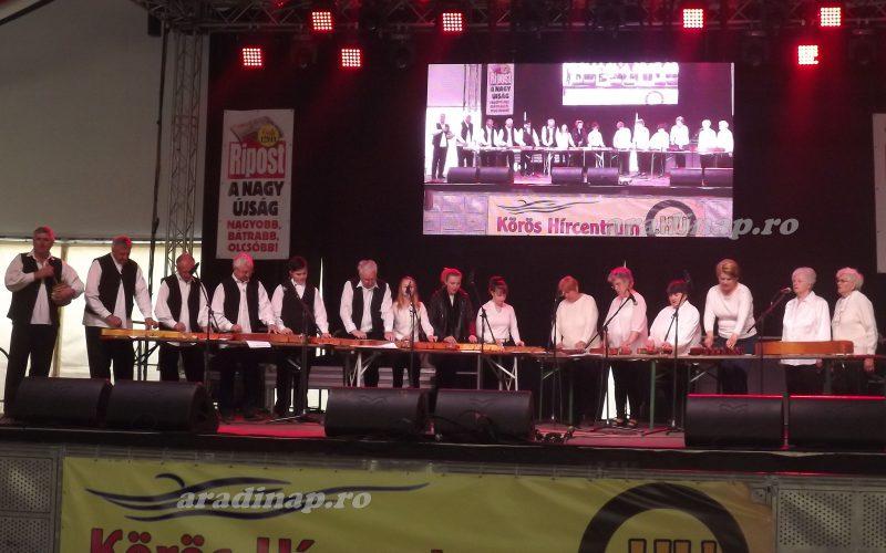Kisiratosi citerások a Gyulai Pálinkafesztiválon (VIDEÓ)