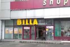 Aradon is rajtol a Billa szupermarketek átfestése
