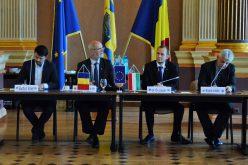 Arad-Pécs: tanácskoztak a kulturális bizottságok