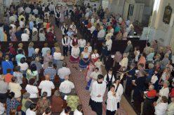 A 130 éves pécskai templom búcsúját ünnepelték