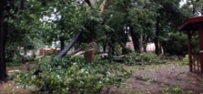 Újabb vihar süvített át: tetők repültek, fák reccsentek