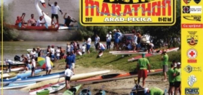 Maros-maraton Aradtól Pécskáig