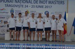 Aradi sikerek a szenior úszók országos bajnokságán